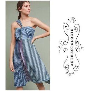 Anthropologie *Maeve* Waverly Gingham Dress